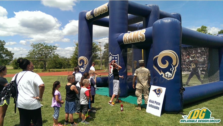 Interactive Football Inflatables