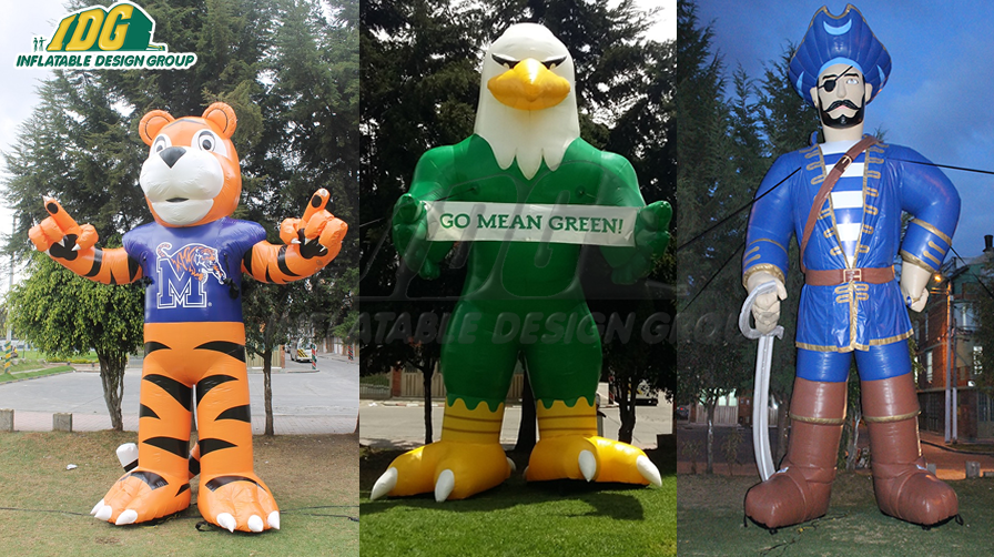 Inflatable College Mascots