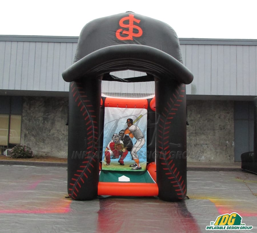 inflatable speed pitch