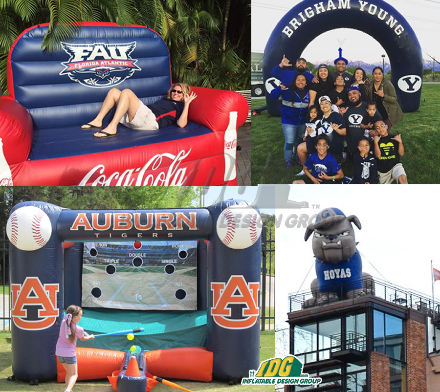university inflatables