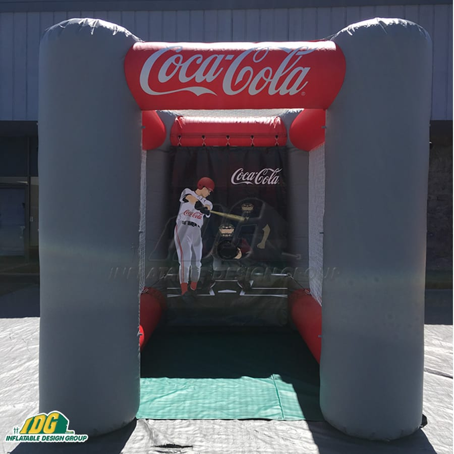interactive baseball inflatables