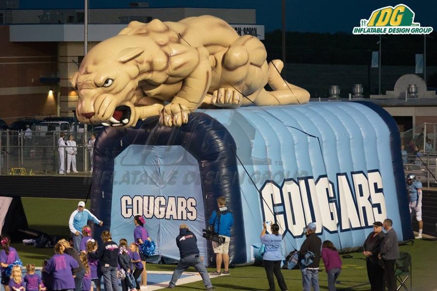 high school inflatable entryway