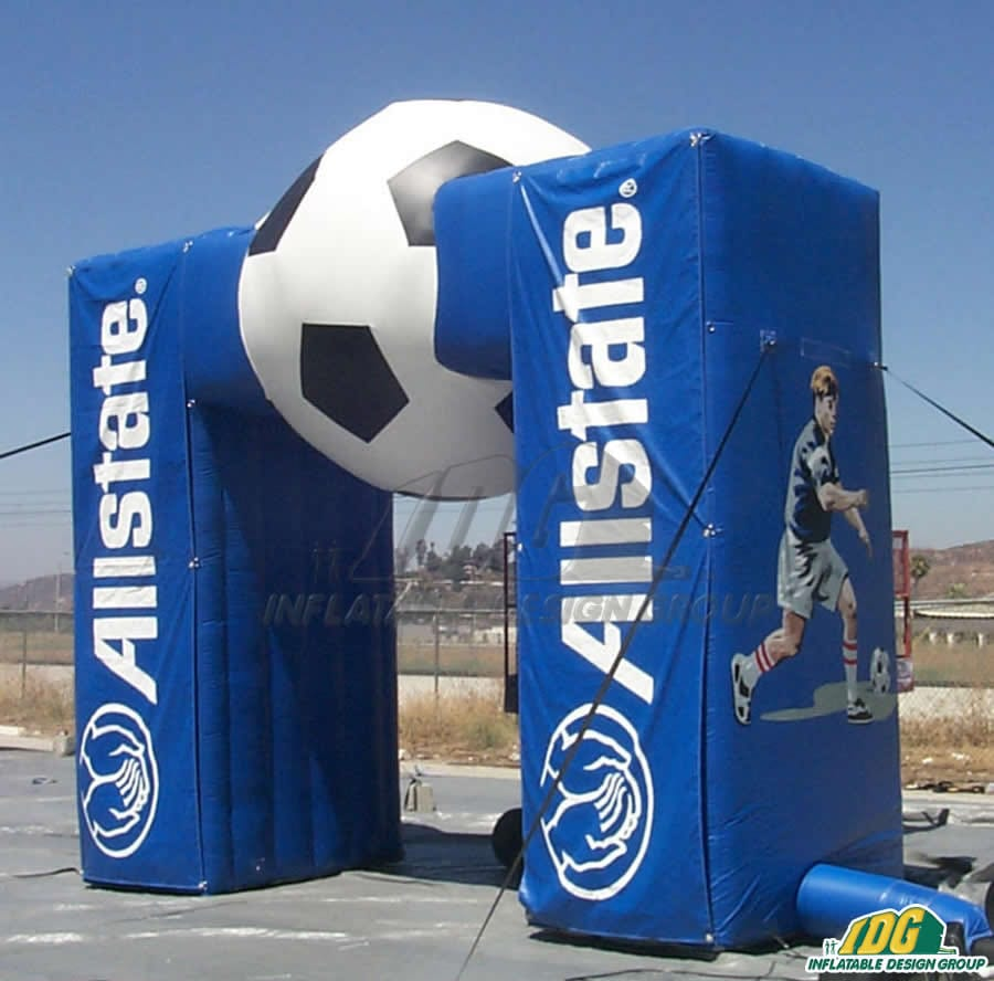 inflatable soccer entryways