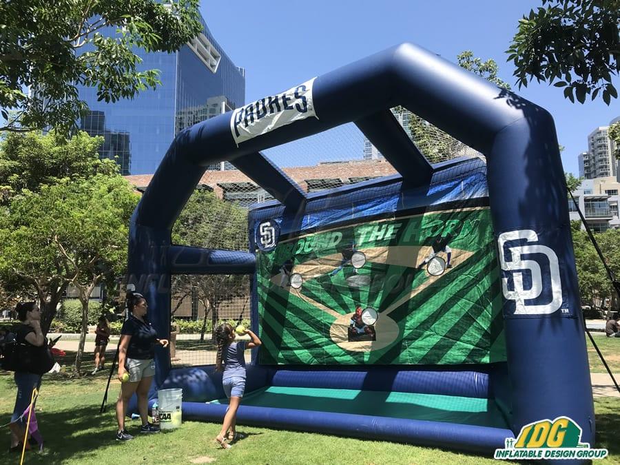 inflatable baseball games