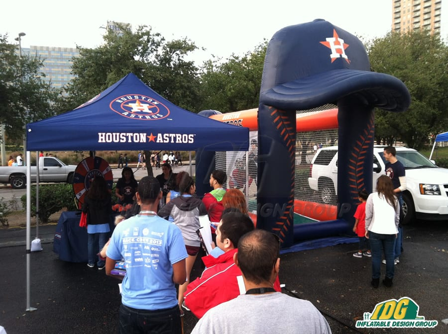 inflatable baseball games