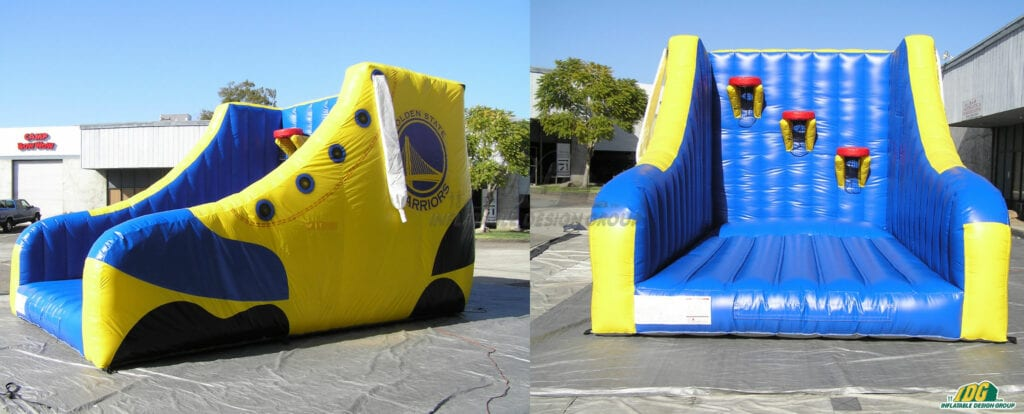 Custom Inflatables, Basketball Inflatables, Inflatable Basketball Games, Basketball Games, NBA Inflatables, NBA Games,